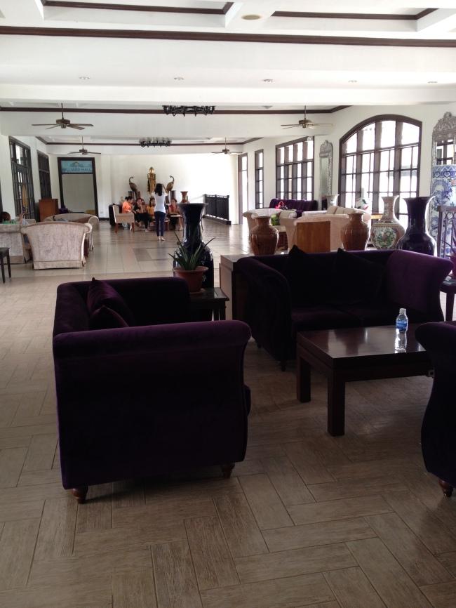 Chateau Royale Reception Lobby