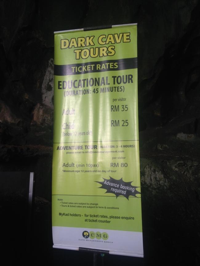 Tour rates.